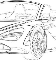 mclaren 720s spider patent drawings [ 1920 x 1080 Pixel ]