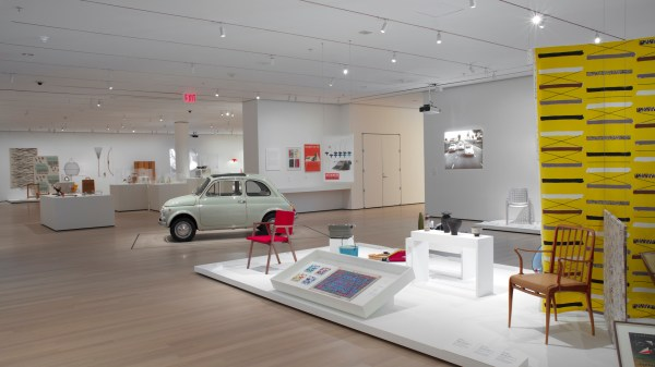 Vintage Fiat 500 Inducted Museum Of Modern Art In