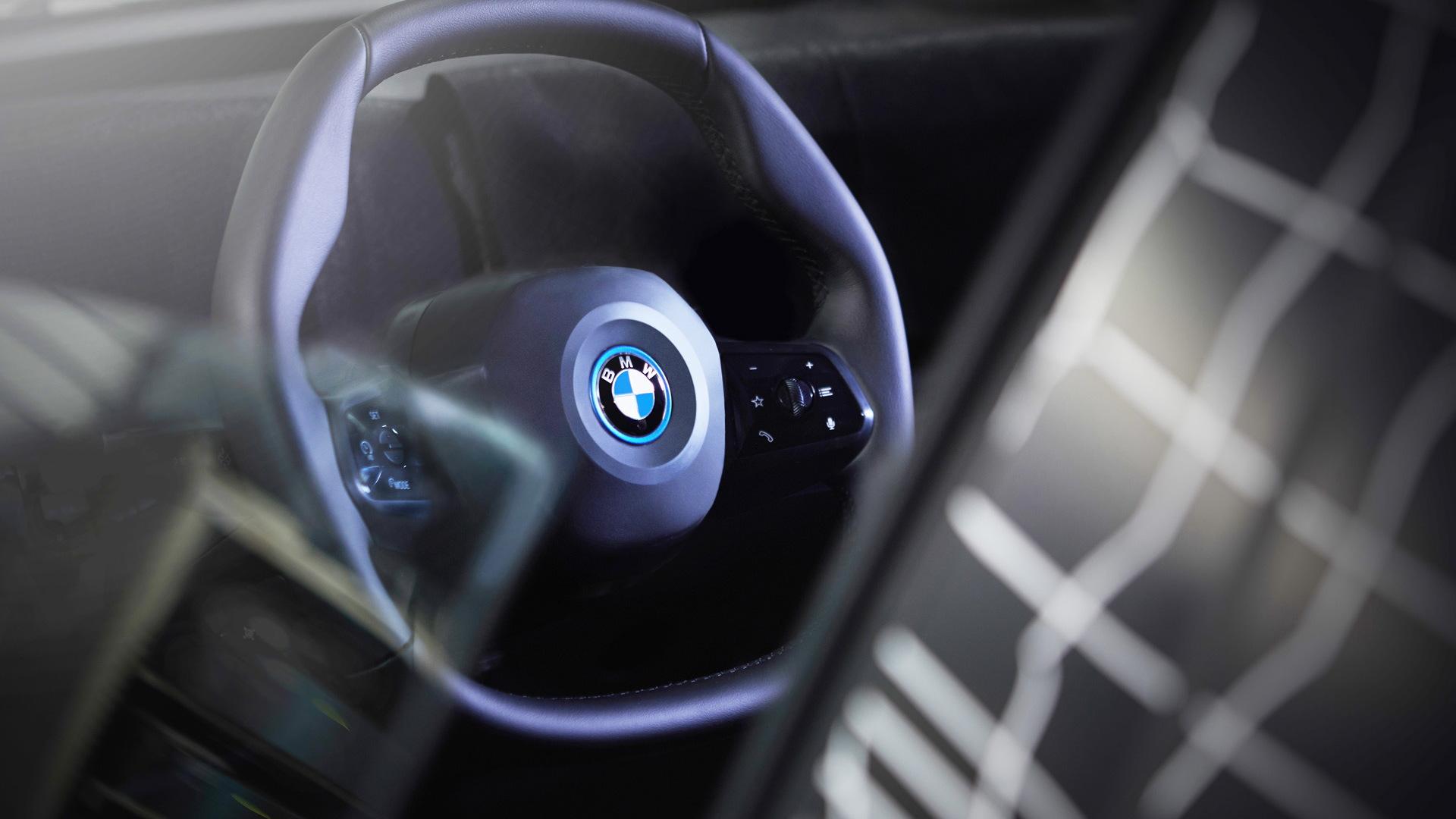 bmw reveals steering wheel