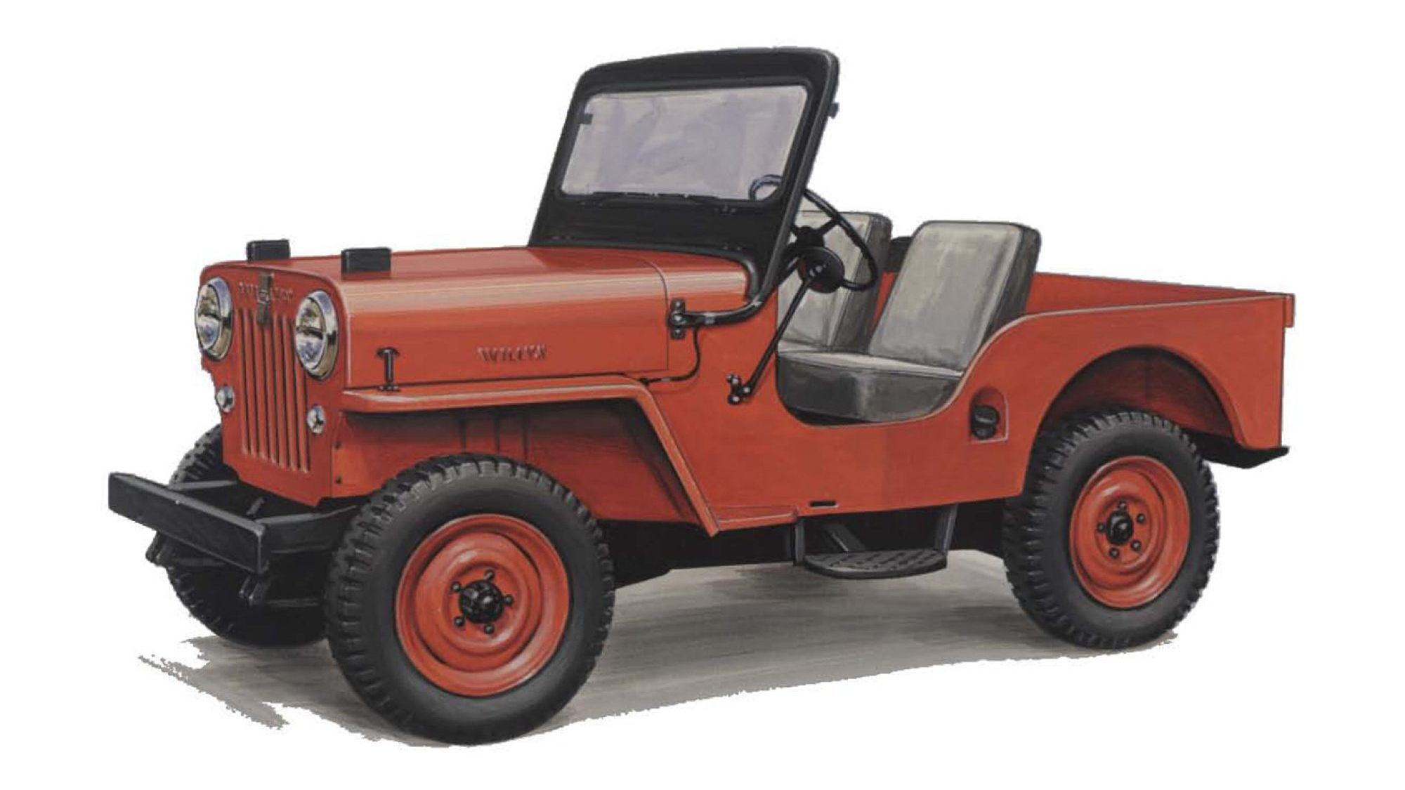 hight resolution of 1953 willys motors cj 3b