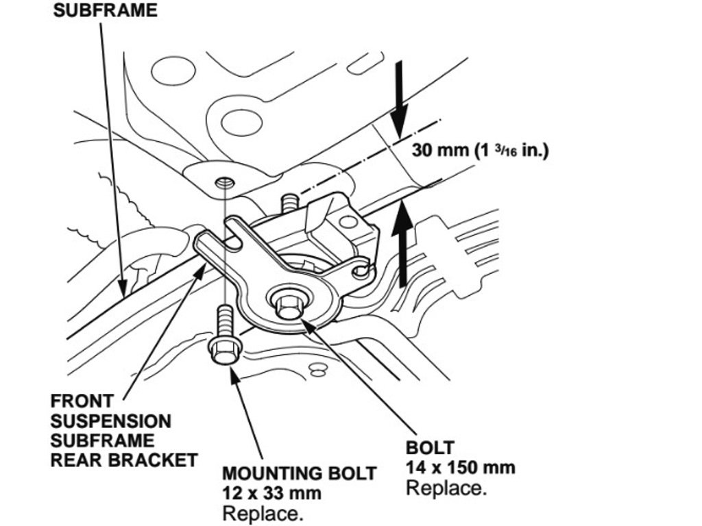 Acura TSX 2004 to 2008 How to Replace Power Steering Rack