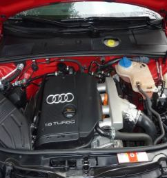 audi a3 a4 ect engine coolant temperature sensor remove replace how to [ 1024 x 768 Pixel ]