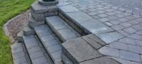 How to Build Paver Patio Steps | DoItYourself.com