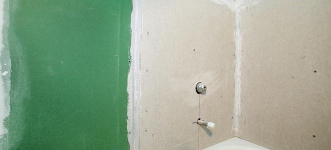 Bathroom Drywall Installation  DoItYourselfcom