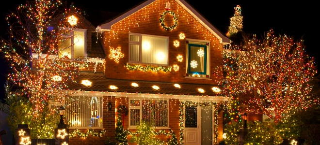 Wiring House For Christmas Lights