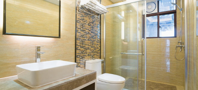 how to build a tiled walk in shower