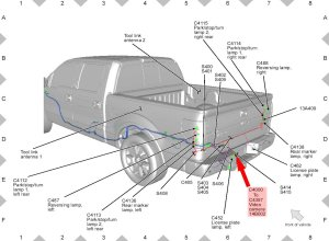 Ford F150 F250 Install Rearview Backup Camera How to