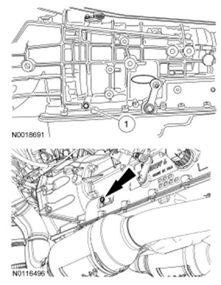 2008 Ford Explorer Transmission Solenoid