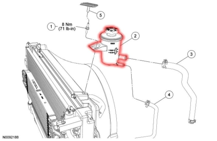 ford f 150 power steering hose diagram  ford  auto parts