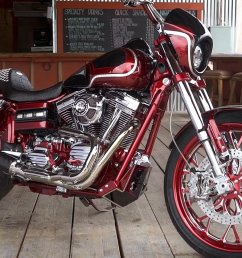 2017 harley davidson dyna low rider s custom build [ 1600 x 900 Pixel ]