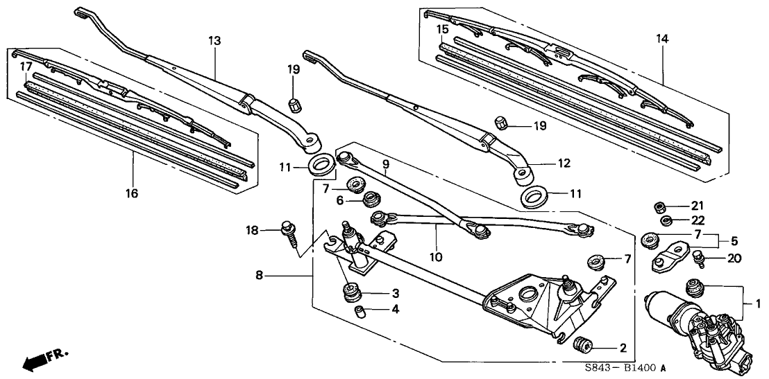 Wiper Linkage Diagram, Wiper, Free Engine Image For User
