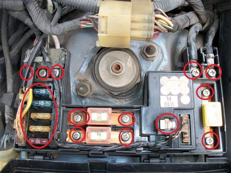 2003 Honda Civic Lx Fuse Box Diagram Honda Accord Why Won T Battery Charge Honda Tech