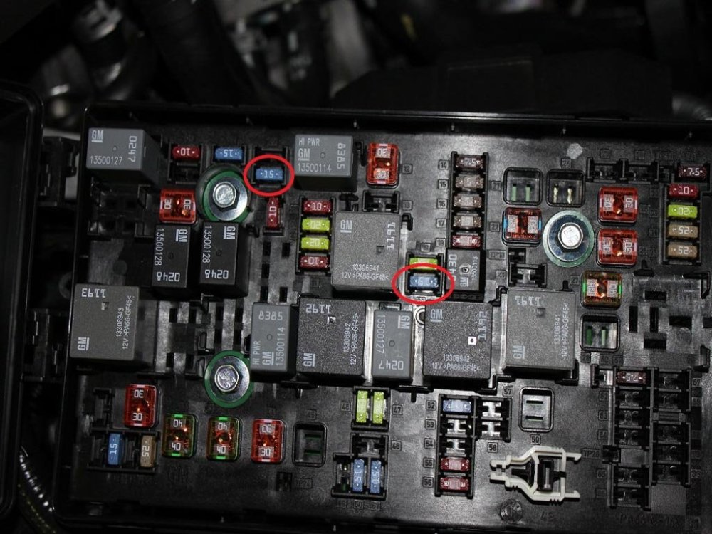 medium resolution of 2011 camaro ss fuse box cover wiring diagram mega 2011 camaro fuse box cover
