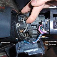 1979 Corvette Headlight Wiring Diagram 1998 Ford F150 Lariat Radio Camaro Firebird And Steering Column Disassembly - Ls1tech
