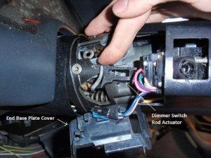 Camaro Firebird and Corvette Steering Column Disassembly