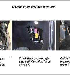 mercedes benz c class w204 fuse diagrams and commonly blown fuses rh mbworld org [ 1799 x 1012 Pixel ]