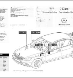 mercedes benz c class w204 fuse diagrams and commonly blown fusesw204 fuse allocation chart page [ 1799 x 1012 Pixel ]