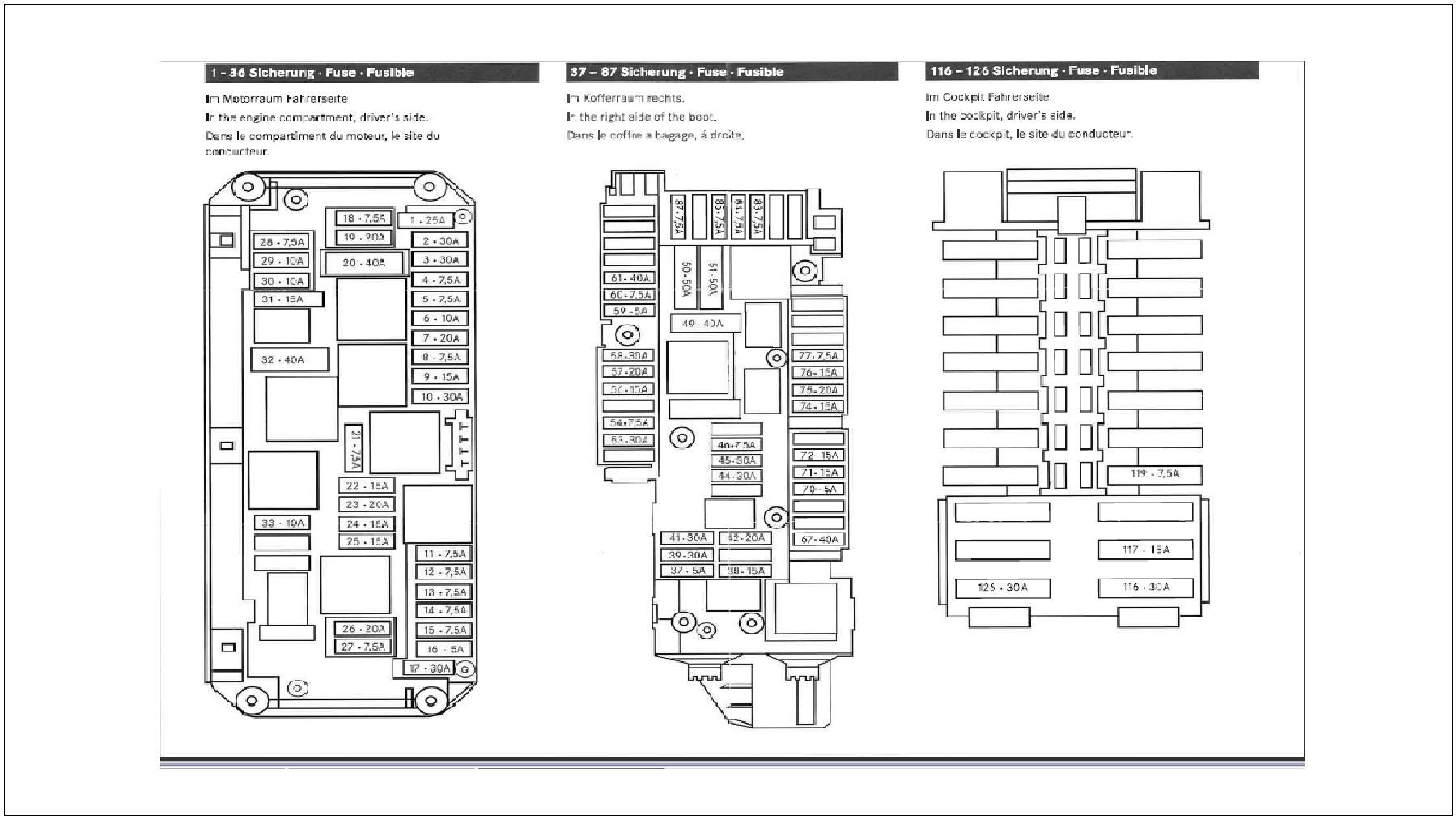 mercedes benz c200 fuse box diagram