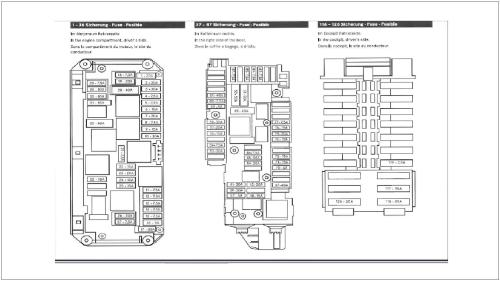 small resolution of mercedes benz c class w204 fuse diagrams and commonly blown fuses 2002 s500 fuse diagram 2011
