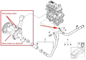 Mini Cooper 2001 to 2006 How to Replace Water Pump