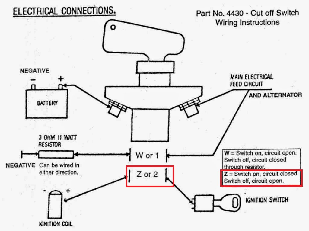 rv dual battery switch wiring diagram mgb gt porsche 993: how to install a kill - rennlist