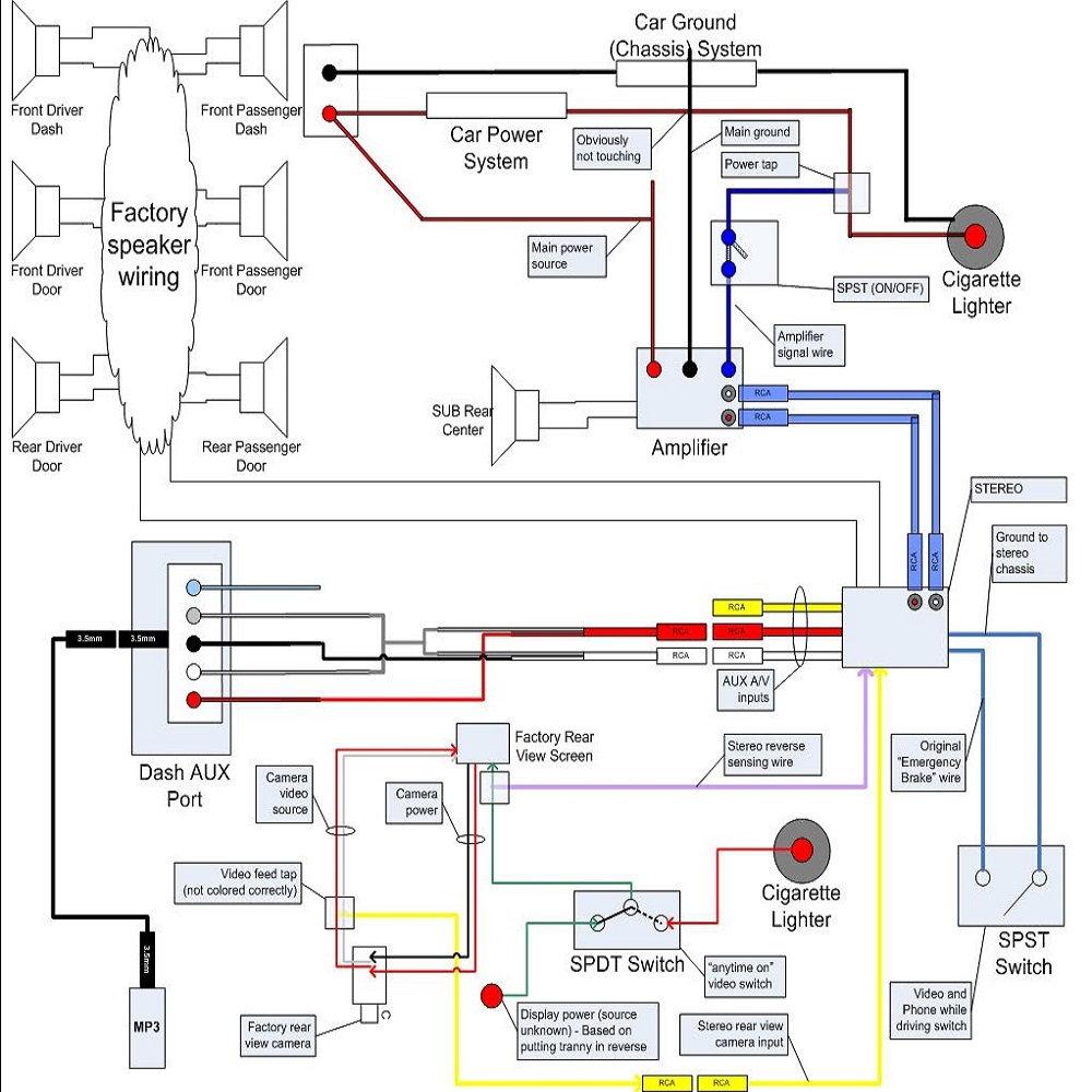 Dual Xd250 Radio Wiring Diagram - Wiring Diagram