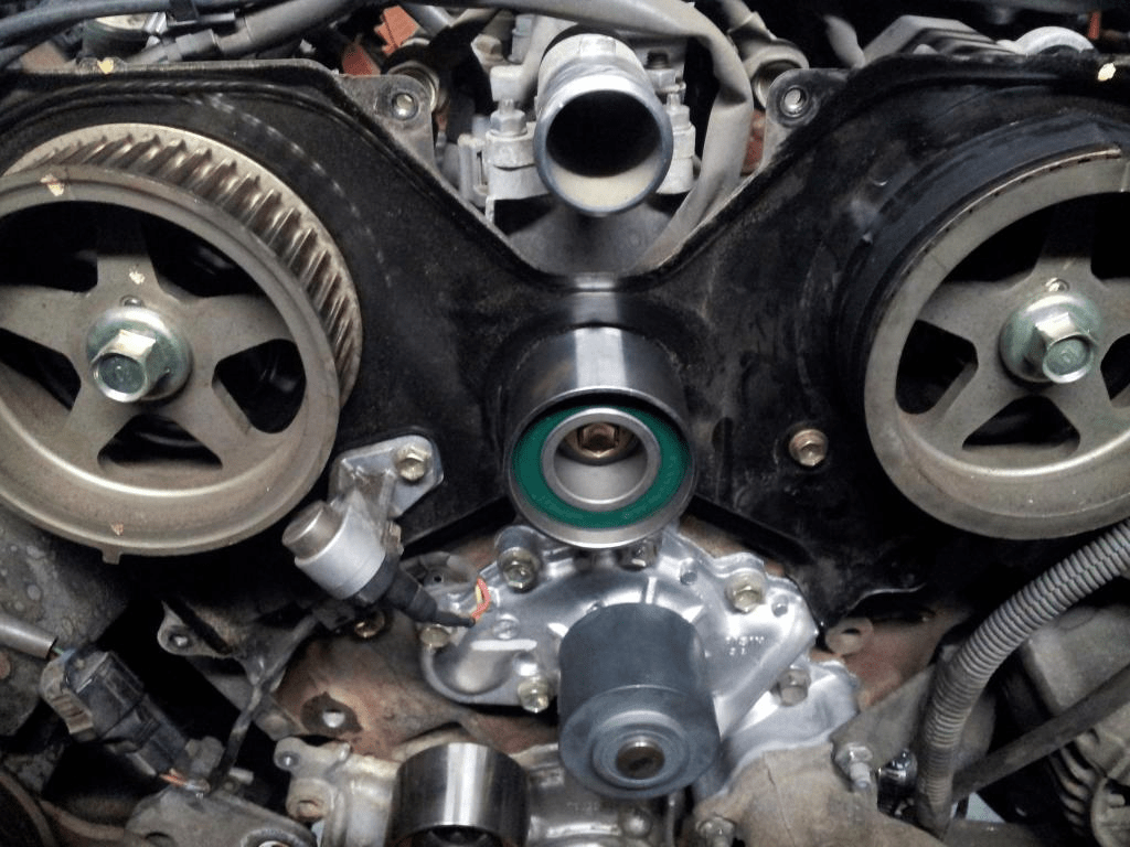 hight resolution of toyota tacoma tundra 4runner 3 4 v6 5uzfe timing belt kit water pump replace remove how to