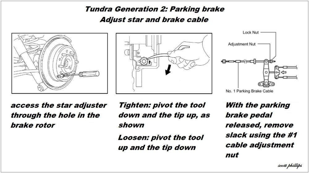 medium resolution of toyota tundra sequoia parking brake drum shoe replacement adjust how to diy