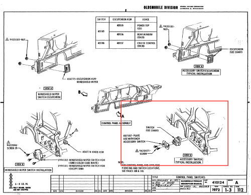 small resolution of 1970 olds 442 convertible top wiring wiring diagram page 1970 oldsmobile 442 wiring diagram