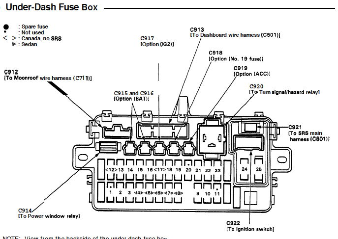 [DIAGRAM] Honda Accord 03 Wiring Diagram FULL Version HD