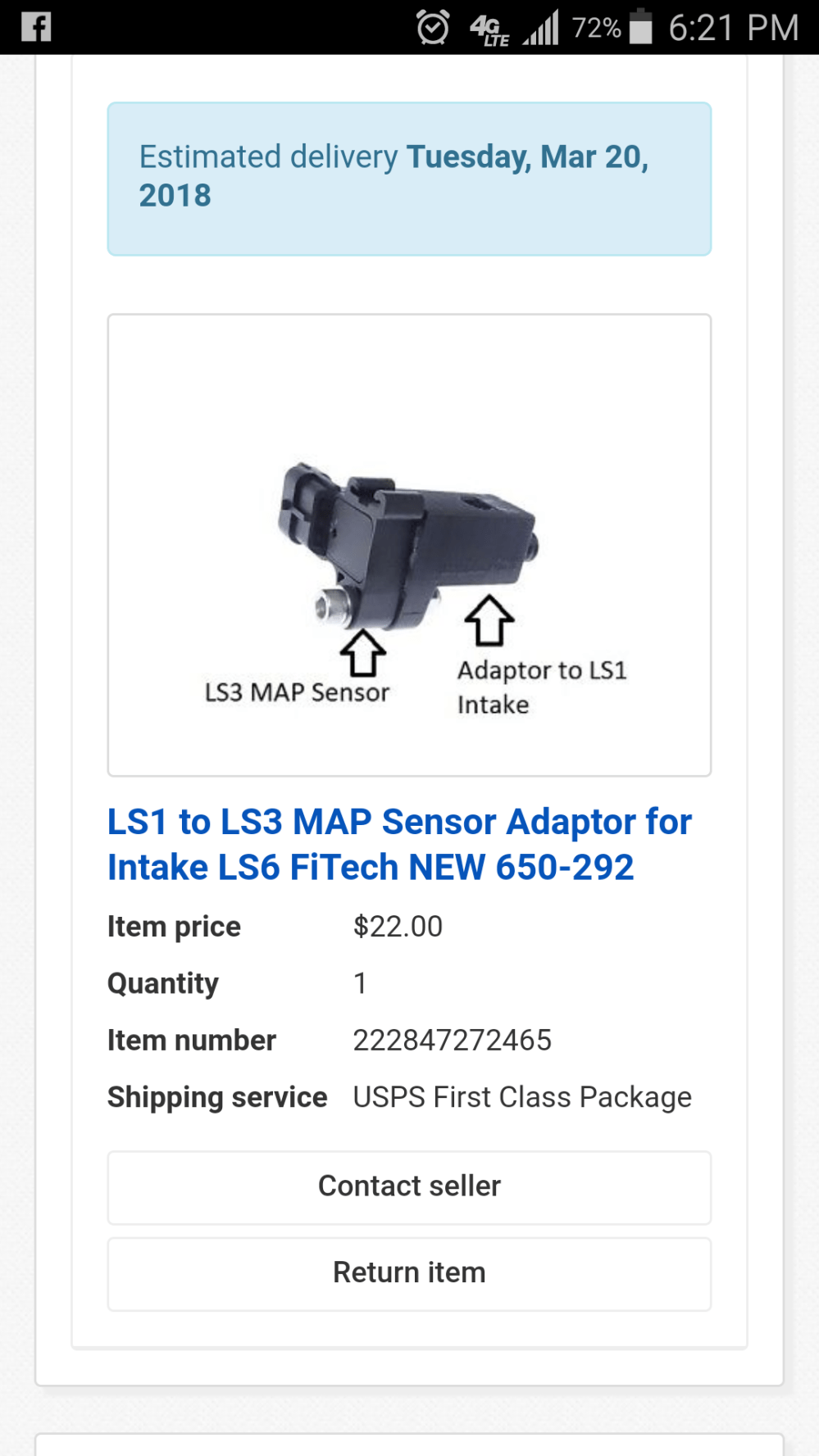 medium resolution of  an ls1 to ls3 adaptor block for map sensor now i don t have to ream out the hole for the bigger ls3 9 map sensor it will just piggyback off of stock