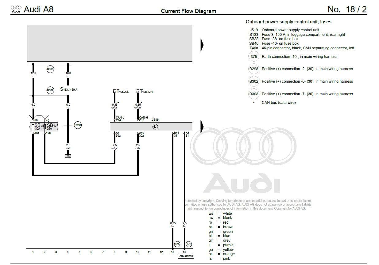 Audi A4 Starter Relay