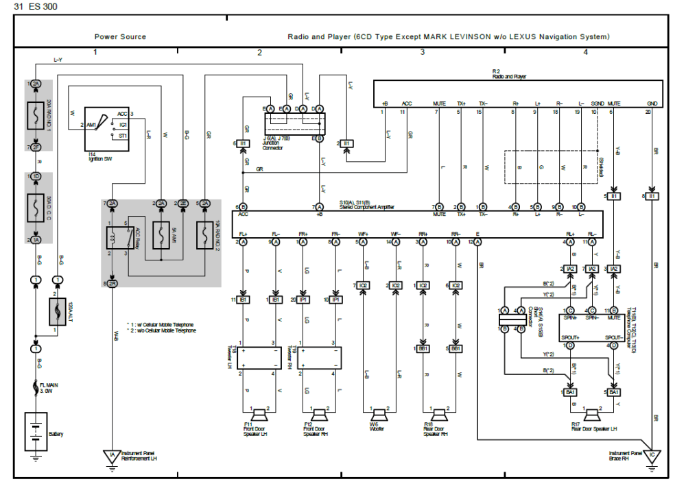medium resolution of and just for kicks here s the other wiring diagram i have which has really confusing color codes