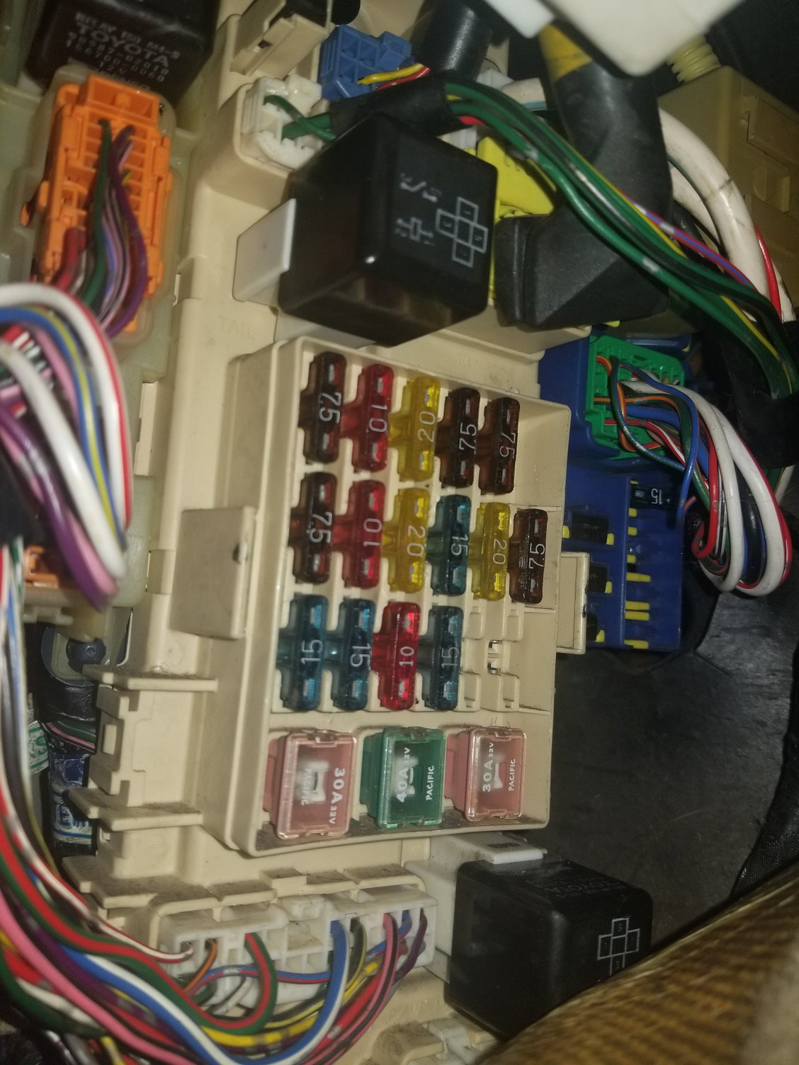 hight resolution of 92 lexus sc300 fuse diagram wiring diagram repair guides 1992 sc300 blinker relay location