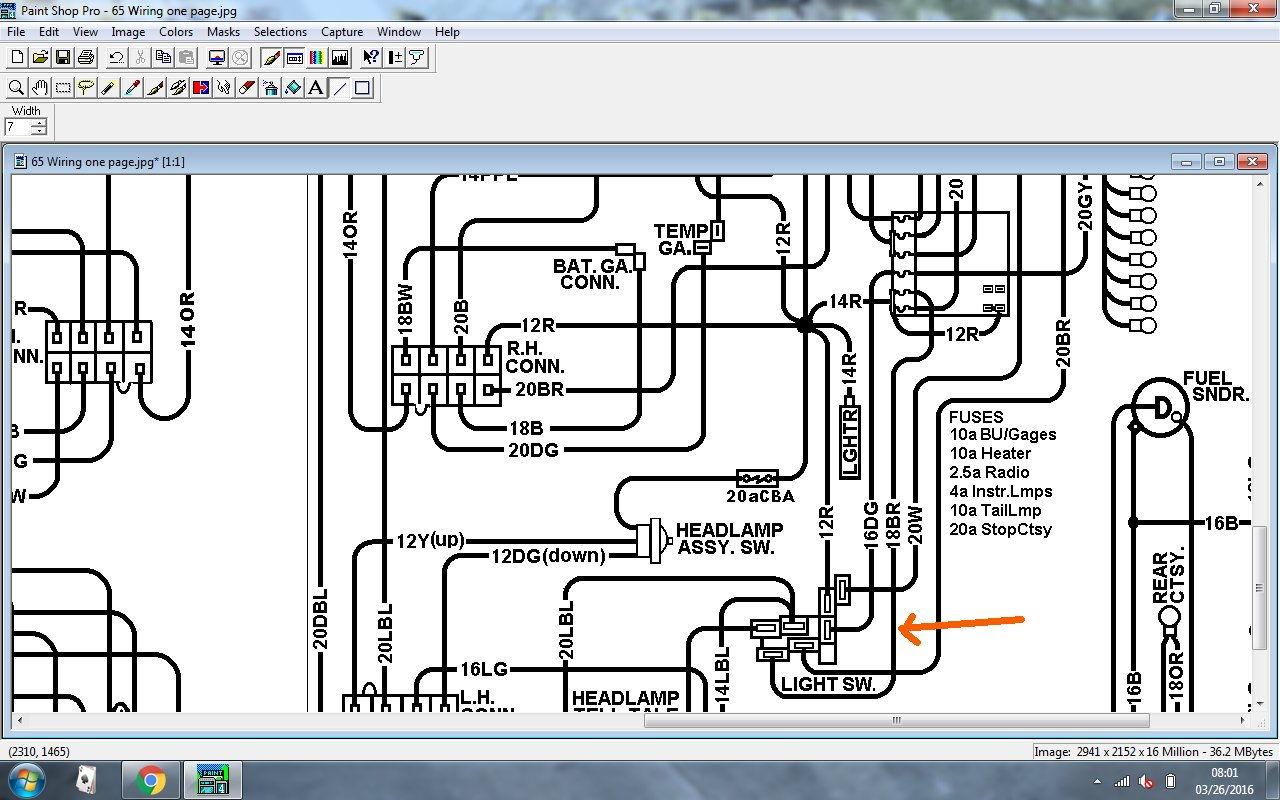 tail light wiring diagram car crumple zone c3 corvette 1972 vacuum