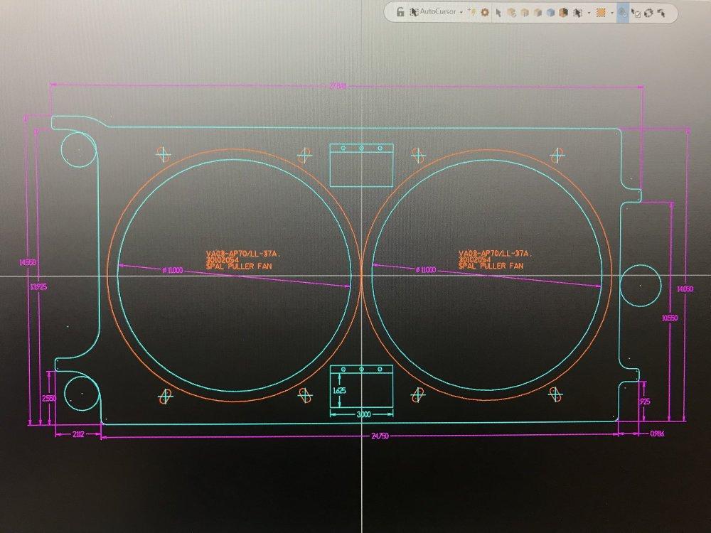 medium resolution of dewitt radiators corvette electric fan wiring diagram best wiring spal radiator fans wiring installation spal electric