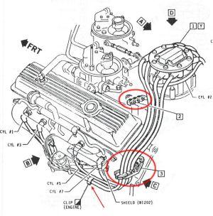 Routing Spark Plug Wires  CorvetteForum  Chevrolet
