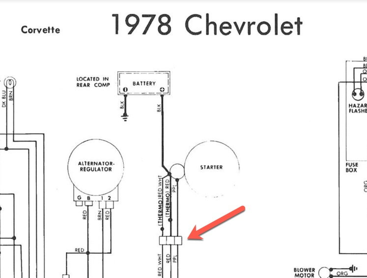 1982 Corvette Fuse Box Diagram : Diagram Simple Battery