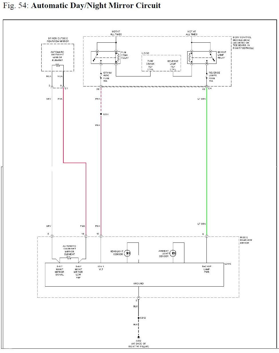 hight resolution of c7 corvette rear view mirror wiring diagram gm mirror 1972 corvette wiring diagram 76 corvette wiring diagram