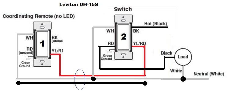 Troubles installing three-way Leviton Smart Switch