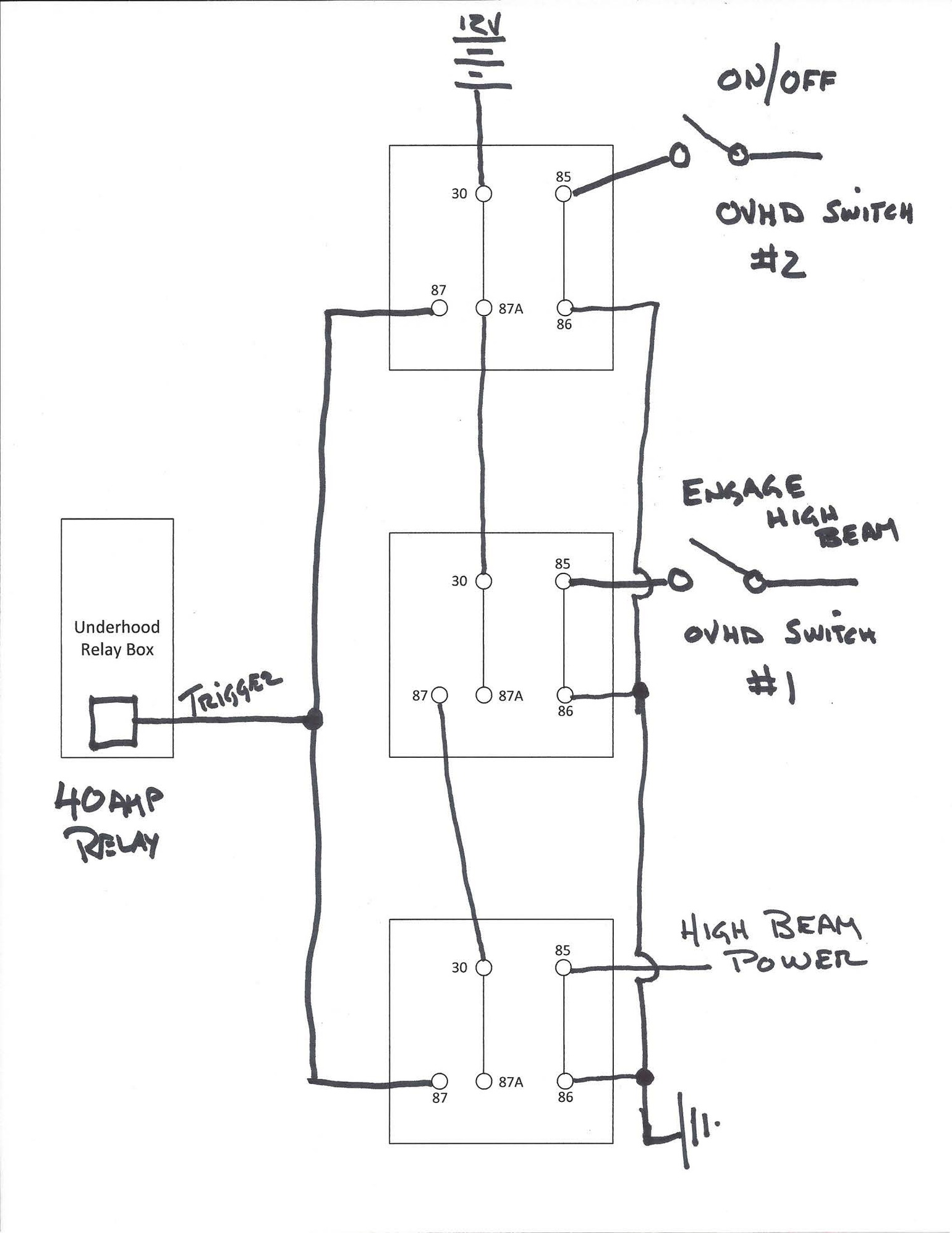 Durite Relay Wiring Diagram New Wiring Diagram 2018