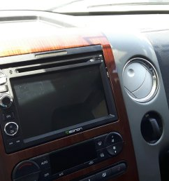 eonon ga7173 display installed ford f150 forum community of ford on [ 1999 x 1124 Pixel ]
