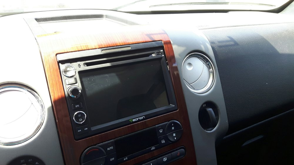 medium resolution of eonon ga7173 display installed ford f150 forum community of ford on