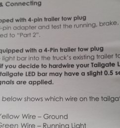 funny thing just noticed in the opt 7 instructions that they mention the delay opt7 redline triple led tailgate light bar  [ 1999 x 1124 Pixel ]