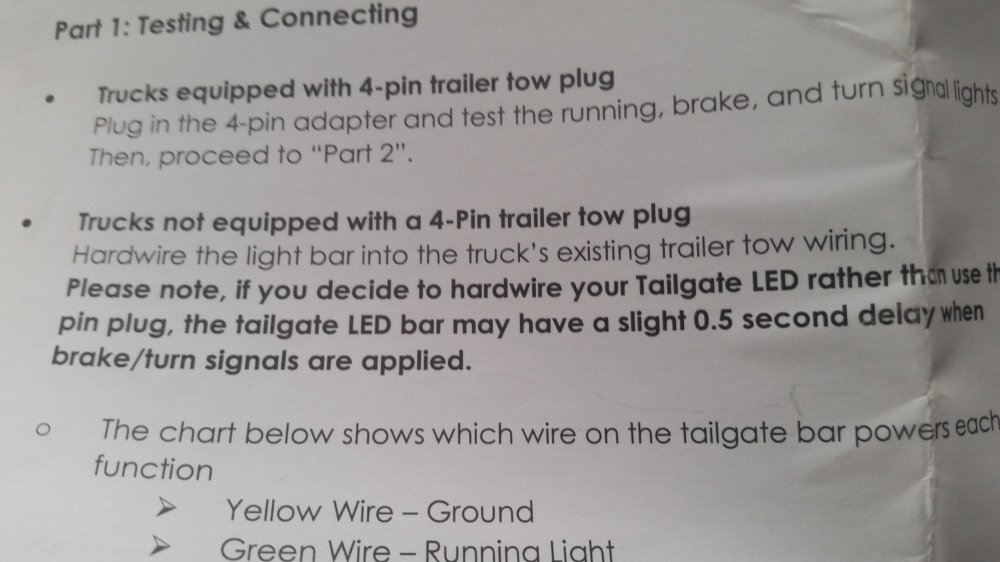 medium resolution of funny thing just noticed in the opt 7 instructions that they mention the delay opt7 redline triple led tailgate light bar