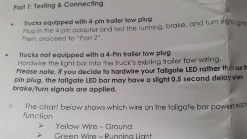 small resolution of funny thing just noticed in the opt 7 instructions that they mention the delay opt7 redline triple led tailgate light bar
