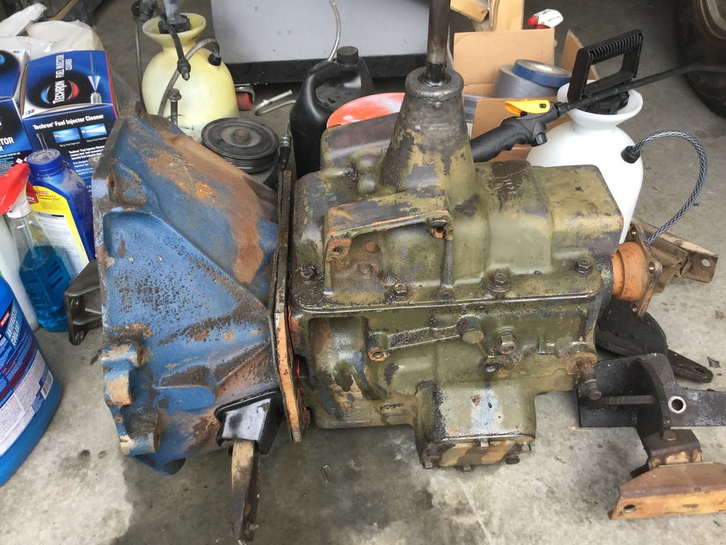 Ford Transmission Identification