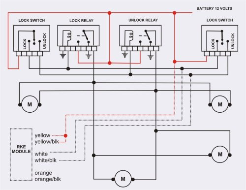 small resolution of ba falcon central locking wiring diagram wiring diagrams datakeyless entry on 1992 e350 ford truck enthusiasts