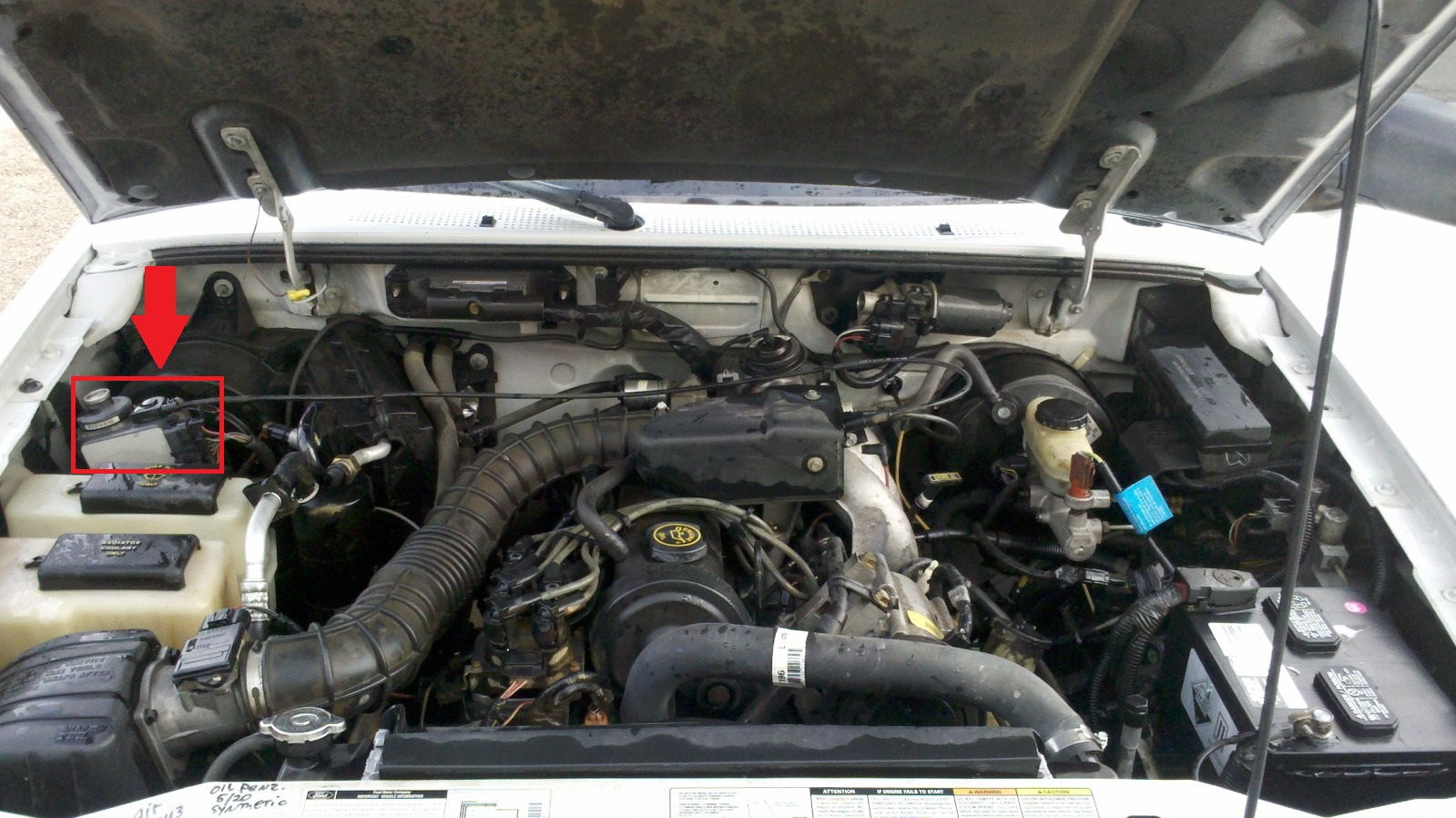 3l Wiring Diagram Please Identify This 97 Ranger Under Hood Part Pic