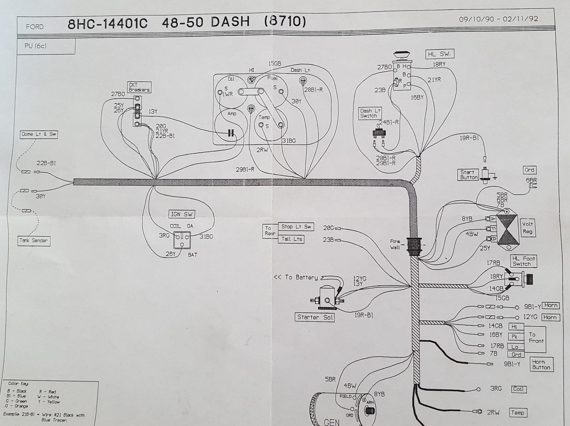 Battery Gauge Wiring